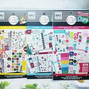 3 Sticker Book Set The Happy Planner New